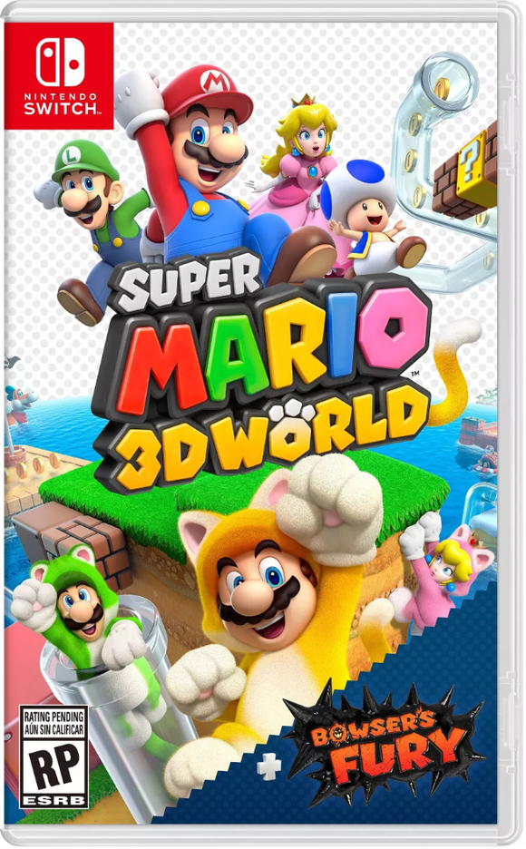 Nintendo Switch - Super Mario 3D World + Bowser's Fury (Ships February 12th 2021)