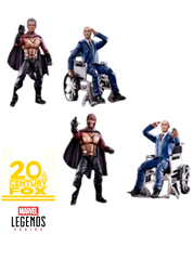 MARVEL LEGENDS - FOX SERIES - TWO PACK - MAGNETO & PROFESSOR X