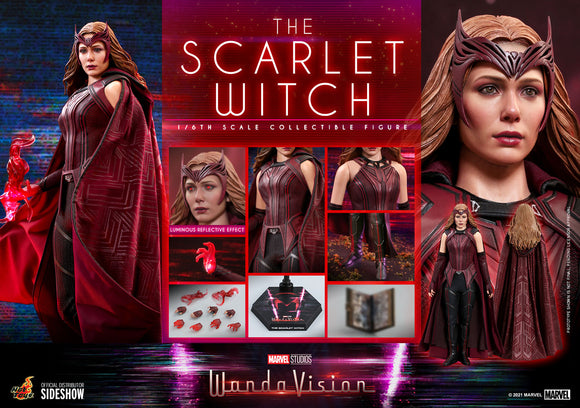 WandaVision - The Scarlet Witch Sixth Scale Figure by Hot Toys (Ships July-Sep 2022)