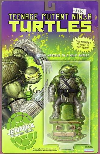 TMNT ONGOING #98 VASQUEZ ACTION FIGURE VARIANT