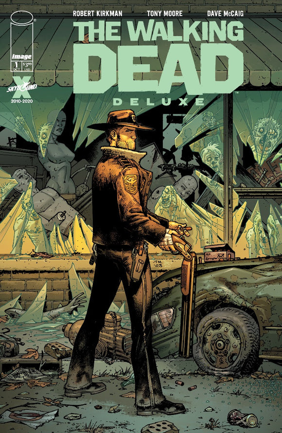 The Walking Dead Deluxe #1 Cover B Tony Moore & Dave McCaig