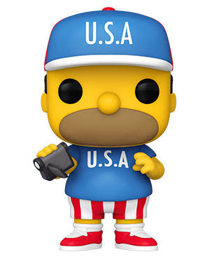 Funko Pop! The Simpsons Wave 3 - USA Homer