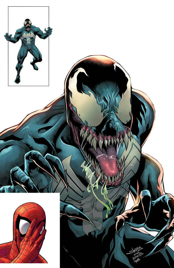 VENOM #29 SLINEY VIRGIN VARIANT