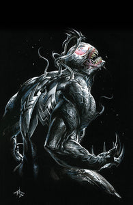WEB OF VENOM EMPYRES END #1 DELL'OTTO VIRGIN VARIANT