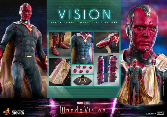 WandaVision - Vision Sixth Scale Figure by Hot Toys (Ships July-Sep 2022)