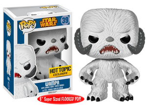 "Funko Pop! Star Wars - Hot Topic Exclusive Wampa (Flocked) 6"" - Collector Cave"