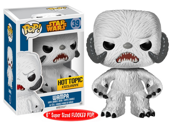 Funko Pop! Star Wars - Hot Topic Exclusive Wampa (Flocked) 6