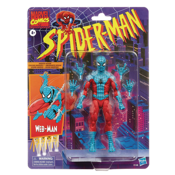 MARVEL LEGENDS - SPIDER-MAN EXCLUSIVE - WEB-MAN (FALL 2021)