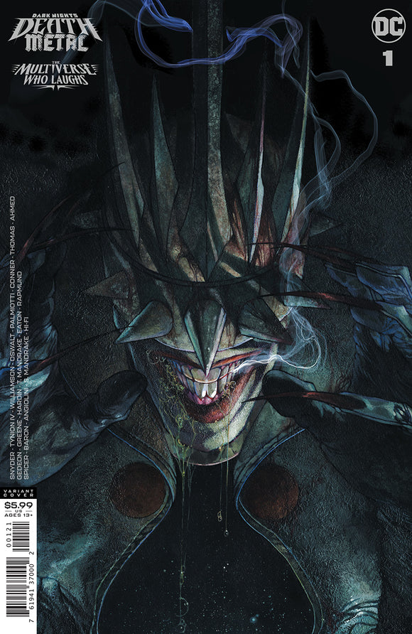 DARK NIGHTS DEATH METAL MULTIVERSE WHO LAUGHS #1 (ONE SHOT) INC 1:25 SIMONE BIANCHI VAR