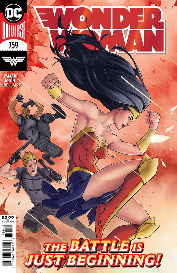 WONDER WOMAN #759 2ND PTG DAVID MARQUEZ RECOLORED VAR