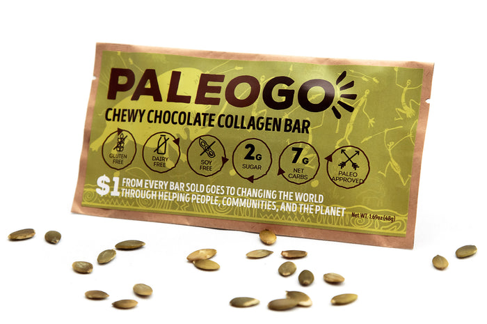 Chewy Chocolate Collagen Bar (12 Bars)