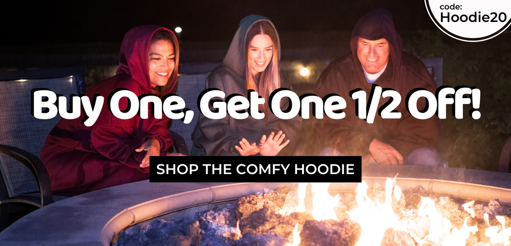 the comfy hoodies, unlined cotton wearable blanket, sale