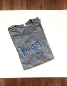 KC Heart Royals, Short sleeve t-shirt