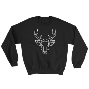Deer Head White Ink, Sweatshirt