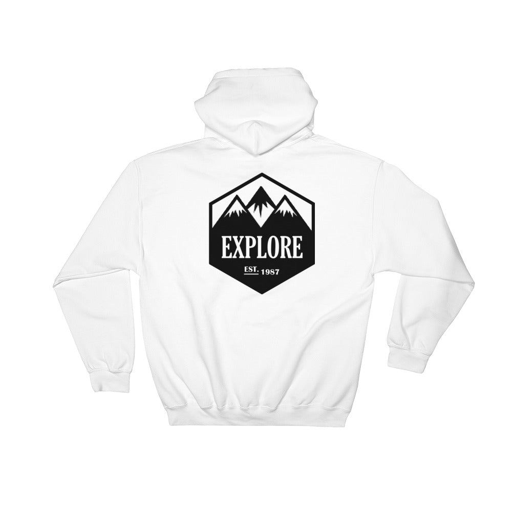 Explore, Hooded Sweatshirt