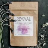 Blush With Green Revival Body Care Lavender + Grapeseed Body Scrub