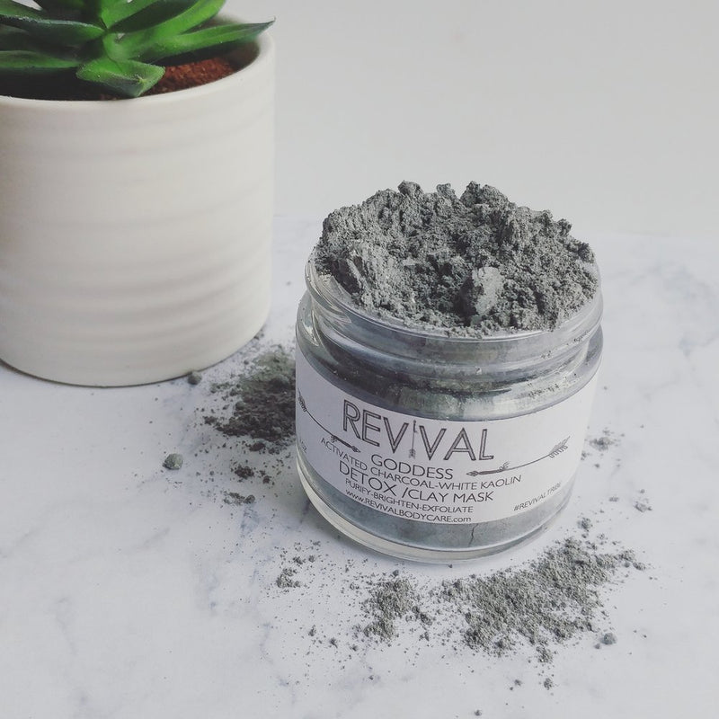 GODDESS CLAY MASK-DETOX