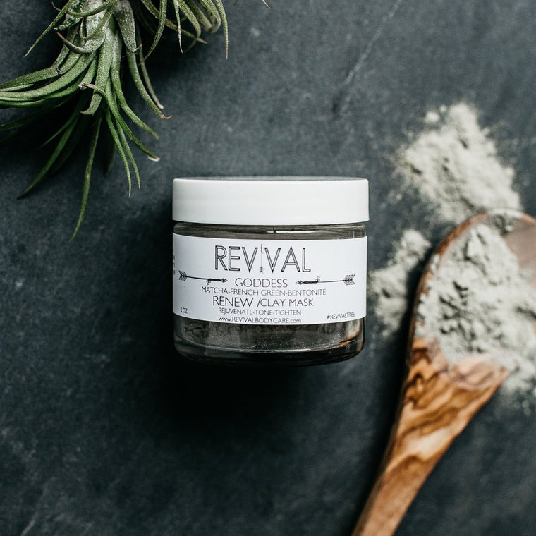 GODDESS CLAY MASK-RENEW