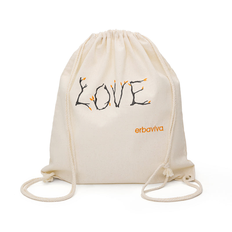 Love Backpack Embroidered