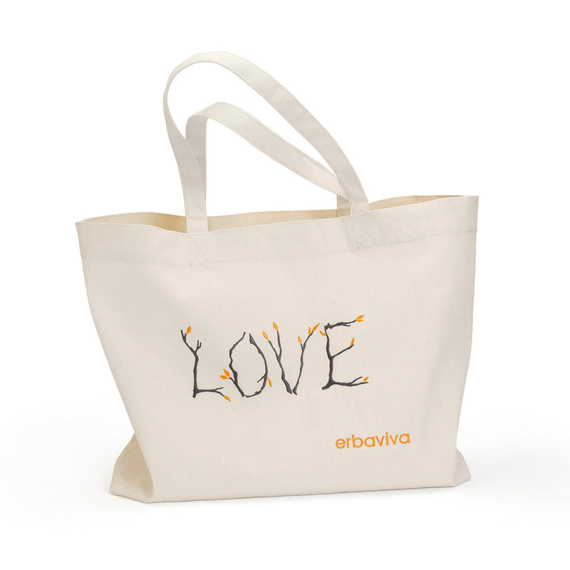 Love Tote Embroidered