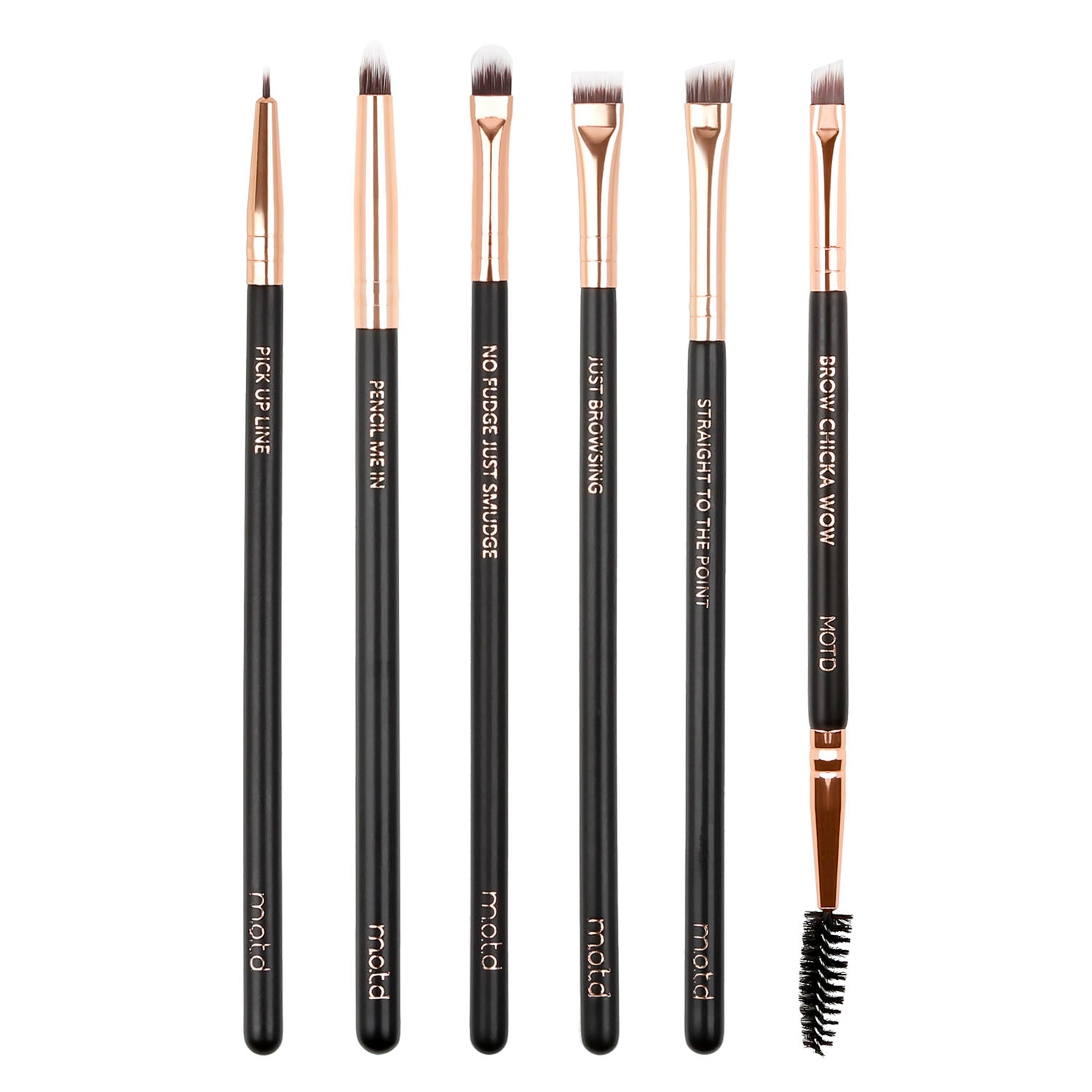 The Fine Print Detail Eye Makeup Brush Set