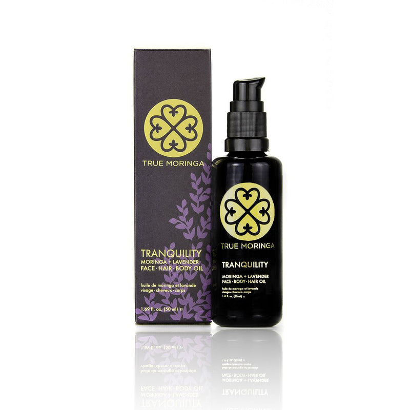 TRANQUILITY (Lavender) - FACE · HAIR · BODY OIL