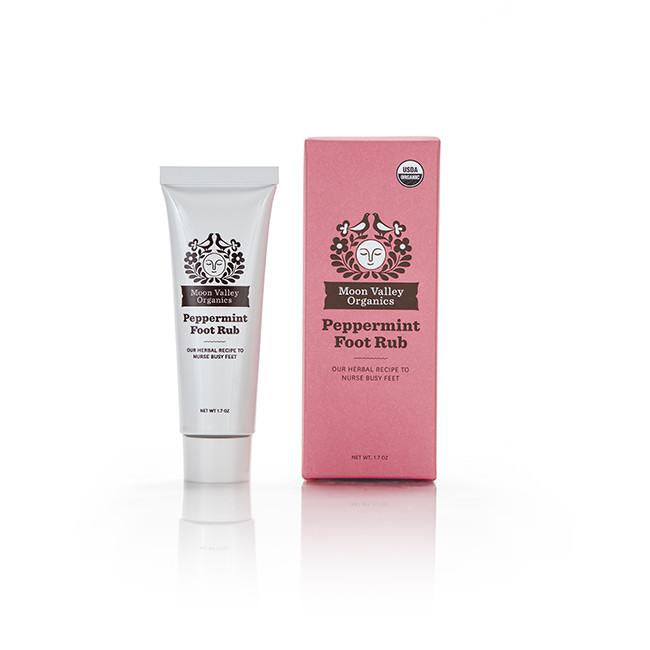 Natural Body Collection Peppermint Foot Rub