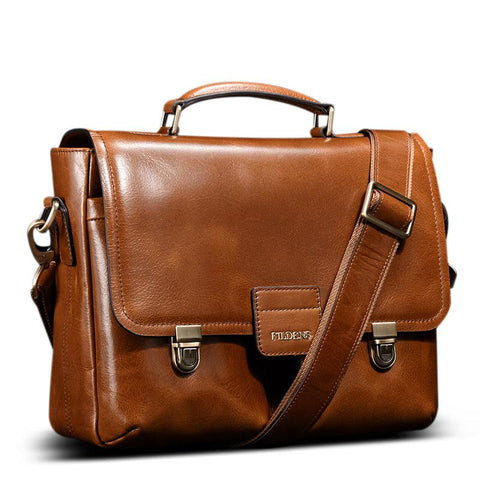 FILDENS Classic Genuine Leather Briefcase