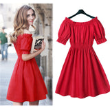 Summer Red Dresses For Women