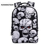 3D Skull Backpack