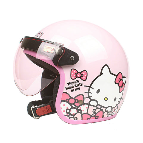 Hello kitty helmet - Girls scooter