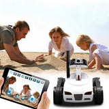 RC Tank Toy with Moving Camera -   Electronic Wireless Wifi Control