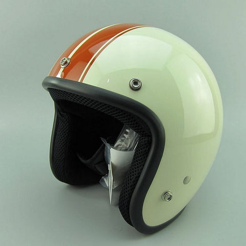 Vintage    3/4 open face Scooter Helmets