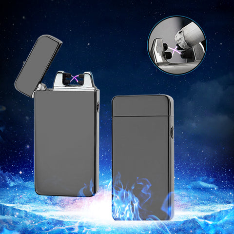 USB Lighter Flameless - Windproof Cigarette Lighter-