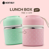 Portable Cute Mini  Lunch Box- Picnic Food