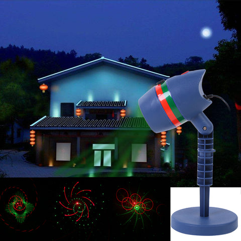 Outdoor Christmas Laser Light Projectors- Waterproof