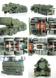 China DF-21 Medium Range Strategic Missile Delivery Truck- 1/35 Scale