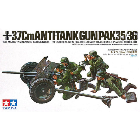 37mm Antitank Gun  - 1/35 Scale