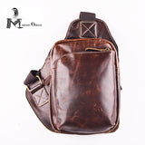 Cow  Leather Chest Bag