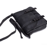 Tanned Leather Men's Messenger Bag,