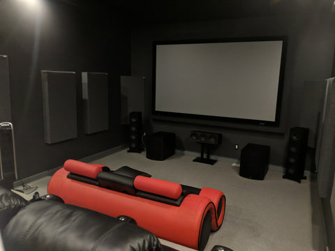 7.4.2 Surround Sound Dedicated Theater Room