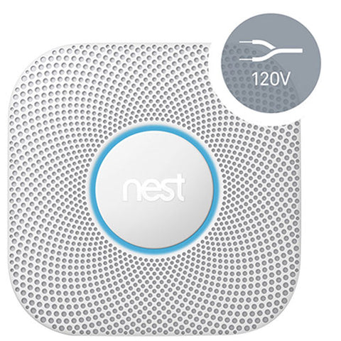 Nest Protect Wi-Fi Smoke & Carbon Monoxide Alarm (Wired) (S3003LWEF)