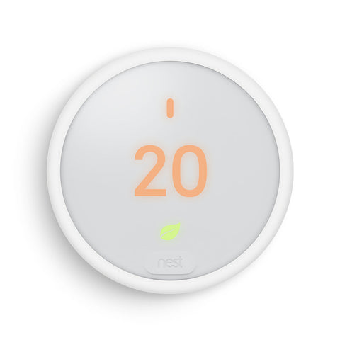Nest Thermostat E Wi-Fi Smart Thermostat - White