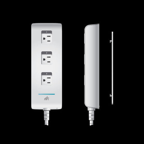 Ubiquiti mFi 3outlet Power Bar UQ3121