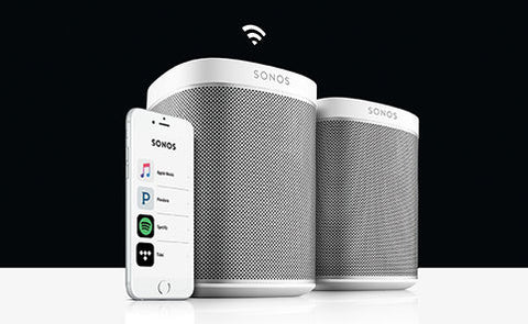 Residential Service - SONOS Wireless Speaker Setup