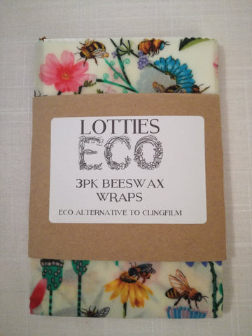 Reusable 3pk Wax Wraps