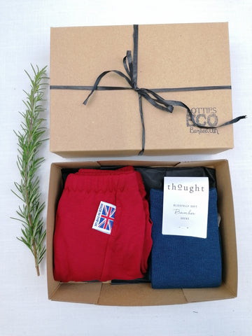 Gift Box Shorts and Socks