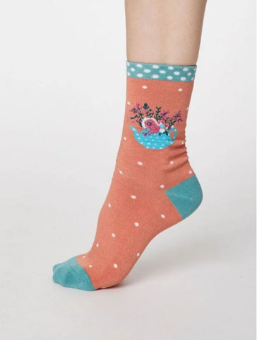 Women's Socks Floral