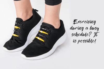 Exercising during a busy schedule? It is possible!