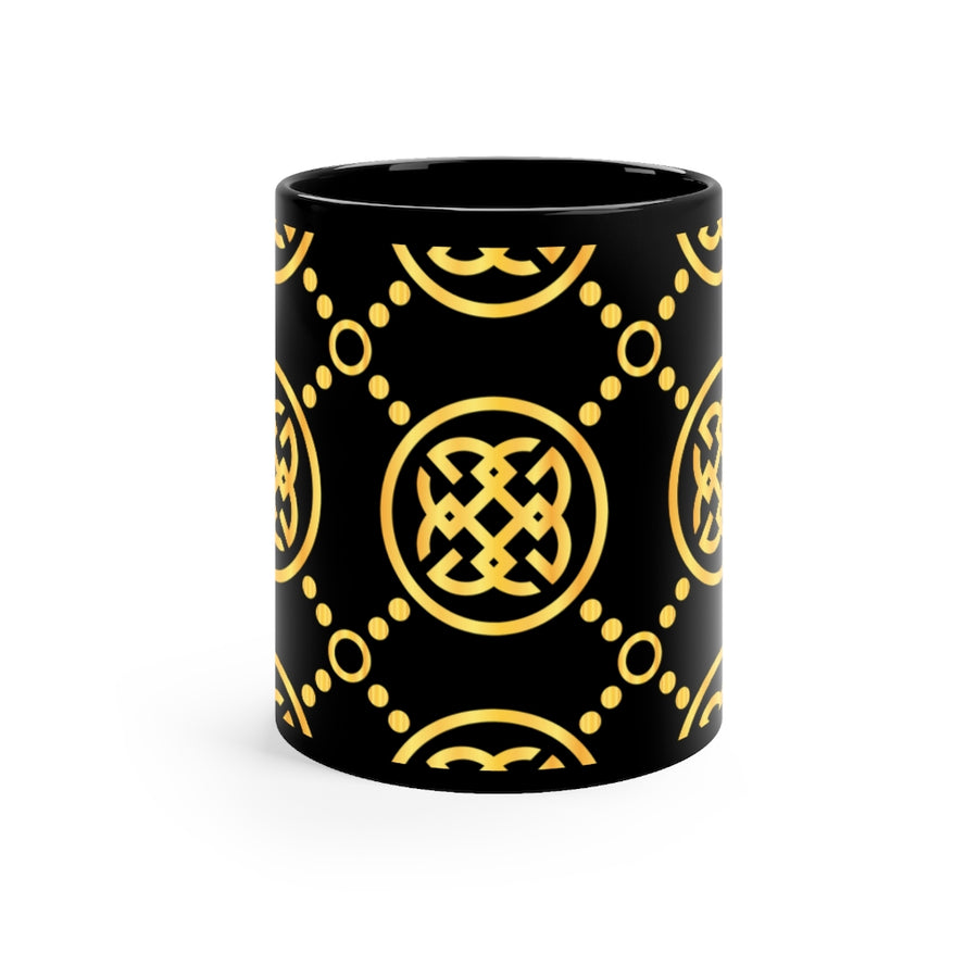 Gold-On-Black Signature Collection Mug | Coffee Mug